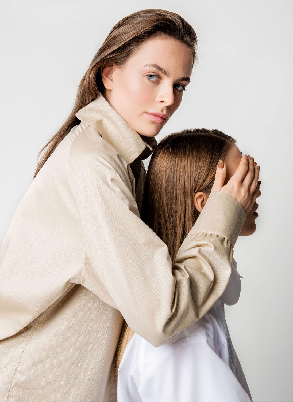 Рубашка женская с воротником - стойкой, Блузки, Москва,  Фото №1