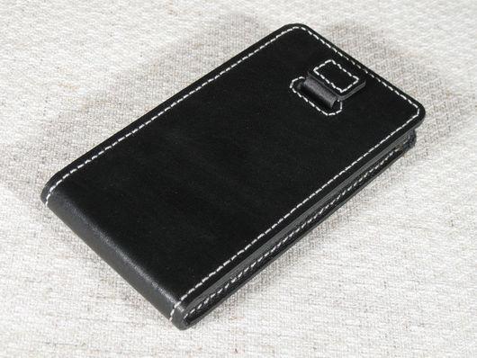 Для телефонов ручной работы. Ярмарка Мастеров - ручная работа. Купить Чехол для мобильного телефона Jiayu G4. Handmade. Кожа