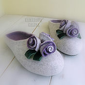 Обувь ручной работы handmade. Livemaster - original item Slippers: women`s Slippers