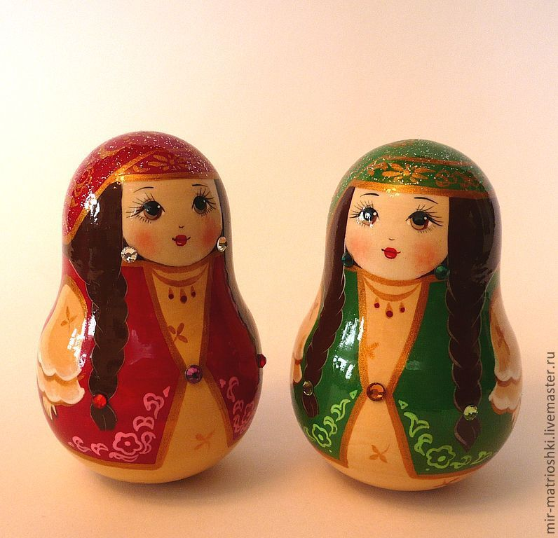 Tumbler 'Tartar' (with bells) 2, Dolls1, Sarov,  Фото №1