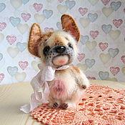 Куклы и игрушки ручной работы. Ярмарка Мастеров - ручная работа Бульдожка Жаклин. Handmade.