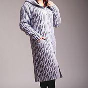"""Одежда ручной работы. Ярмарка Мастеров - ручная работа вязанное пальто """" Лабиринт"""". Handmade."""