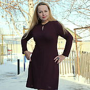 "Одежда handmade. Livemaster - original item Knitted dress ""Perfect for You - 2"". Handmade."