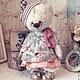 Мишки Тедди ручной работы. Ярмарка Мастеров - ручная работа. Купить Мишка Милочка. Handmade. Мишка, подарок, розовый
