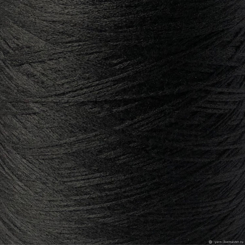 Пряжа Кашемир ALASHAN  шнурок черный – купить на Ярмарке Мастеров – MTUFIRU | Пряжа, Санкт-Петербург