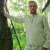 """Одежда ручной работы. Ярмарка Мастеров - ручная работа Льняной костюм """"Дикий лён"""". Handmade."""