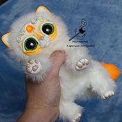 Куклы и игрушки ручной работы. Ярмарка Мастеров - ручная работа Королевский волшебный кот породы : Мирис. Апельсиновый. Handmade.