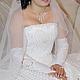 Одежда и аксессуары ручной работы. Ярмарка Мастеров - ручная работа. Купить свадебное платье ручной работы. Handmade. Свадебное платье