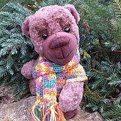"""Мягкие игрушки ручной работы. Ярмарка Мастеров - ручная работа Тедди-медвежонок """"Черничный"""". Handmade."""