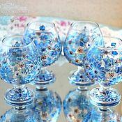 Для дома и интерьера handmade. Livemaster - original item Cognac glasses