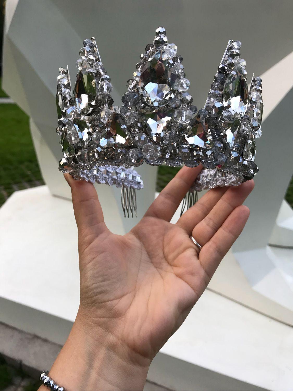 Свадебная Корона «Снежная Королева», Свадебные украшения, Москва, Фото №1