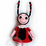 Куклы и игрушки handmade. Livemaster - original item Ladybug Mila from the cartoon about Luntik. Handmade.