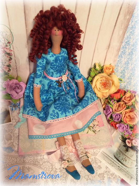 Куклы Тильды ручной работы. Ярмарка Мастеров - ручная работа. Купить Кукла Тильда. Handmade. Разноцветный, подарок, шерсть