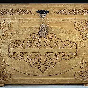 Мебель ручной работы. Ярмарка Мастеров - ручная работа Сундук Берегиня max. Handmade.