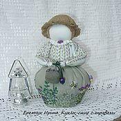 Сувениры и подарки ручной работы. Ярмарка Мастеров - ручная работа Кукла-саше с ароматом розмарина и мяты. Handmade.
