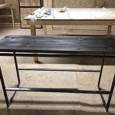 Мебель ручной работы. Ярмарка Мастеров - ручная работа Стол консоль. Handmade.