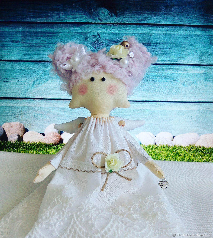 Детская ручной работы. Ярмарка Мастеров - ручная работа. Купить Текстильный ангел. Handmade. Ангел, крещение, ангелочек, текстильный ангел