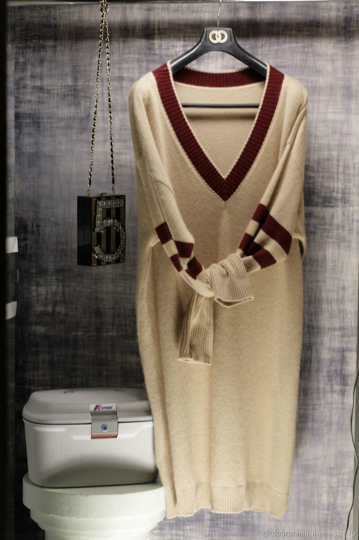 Sports-chic sweater dress, Dresses, Ekaterinburg,  Фото №1