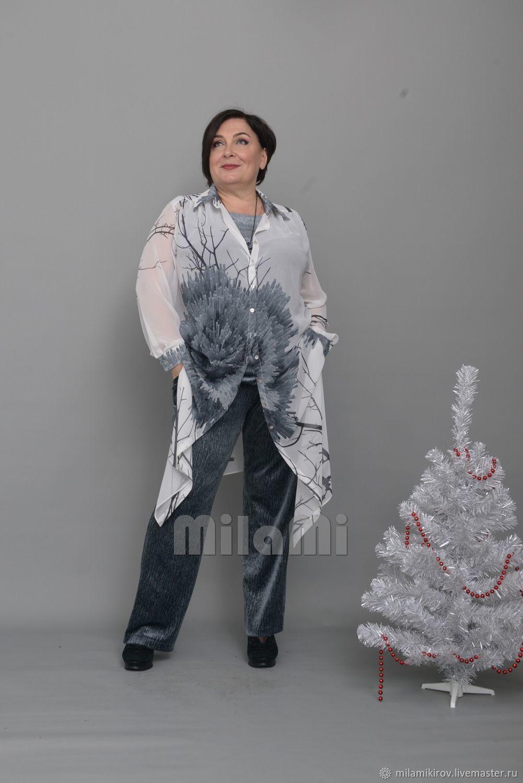 3932 Grey velvet trousers, Pants, Kirov,  Фото №1
