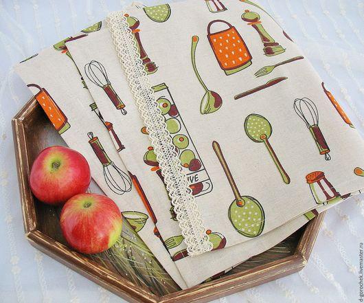 """Кухня ручной работы. Ярмарка Мастеров - ручная работа. Купить Набор для кухни """"Оливки"""". Handmade. Комбинированный, полотенце в подарок"""