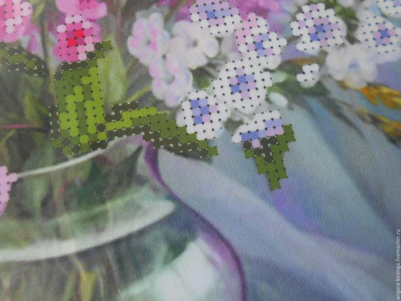 Как перевести рисунок вышивки на грубую ткань, трикотаж или 90