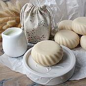 """Мыло ручной работы. Ярмарка Мастеров - ручная работа """"Сладкое молоко"""" натуральное молочное мыло. Handmade."""