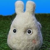 Куклы и игрушки ручной работы. Ярмарка Мастеров - ручная работа Тоторо зайчик. Handmade.