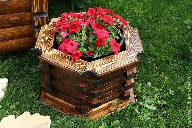 ящик для цветов деревянный фото здания это