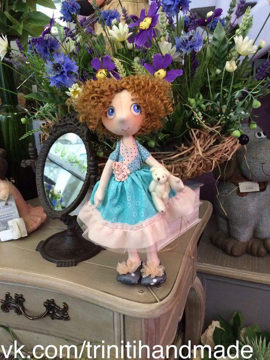Коллекционные куклы ручной работы. Ярмарка Мастеров - ручная работа. Купить Кукла текстильная интерьерная. Авторская кукла.. Handmade.