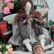 Куклы и игрушки ручной работы. Ярмарка Мастеров - ручная работа Кофейная фея в стиле Тильда. Handmade.