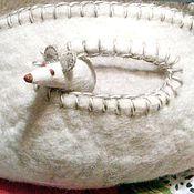 "Лежанка кошке, хорьку, собачке  ""Полярная мышка"""