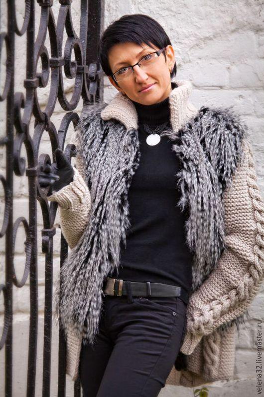 """Верхняя одежда ручной работы. Ярмарка Мастеров - ручная работа. Купить Куртка """"Удачный день"""". Handmade. Бежевый, куртка женская"""