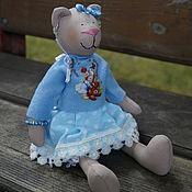 Куклы и игрушки ручной работы. Ярмарка Мастеров - ручная работа мишка Мишель. Handmade.