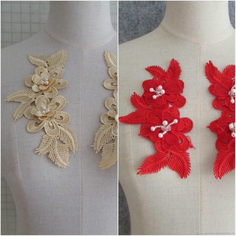 3D аппликация (компьютерная вышивка), Аппликации, Глазов,  Фото №1