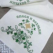 Для дома и интерьера handmade. Livemaster - original item The towel on the icon.. Handmade.