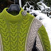 Одежда ручной работы. Ярмарка Мастеров - ручная работа Джемпер-свитер Жанна Орлеанская. Handmade.