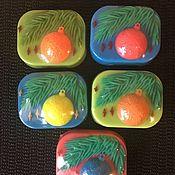 Украшения для цветочных горшков ручной работы. Ярмарка Мастеров - ручная работа Новогоднее мыльце в большом ассортименте. Handmade.