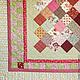 """Текстиль, ковры ручной работы. Ярмарка Мастеров - ручная работа. Купить Пэчворк покрывало """"Рэтро"""" №45. Handmade. Стеганое одеяло"""