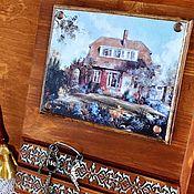 Для дома и интерьера ручной работы. Ярмарка Мастеров - ручная работа Ключница Дом, милый дом. Handmade.