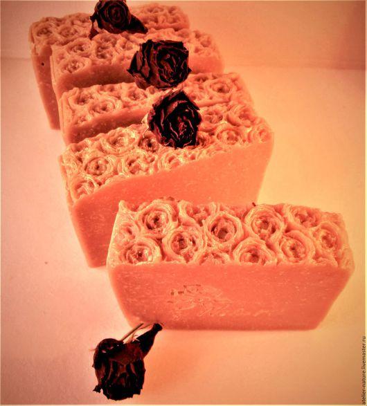 Мыло «Винная роза» натуральное, на красном вине, с ароматом роз