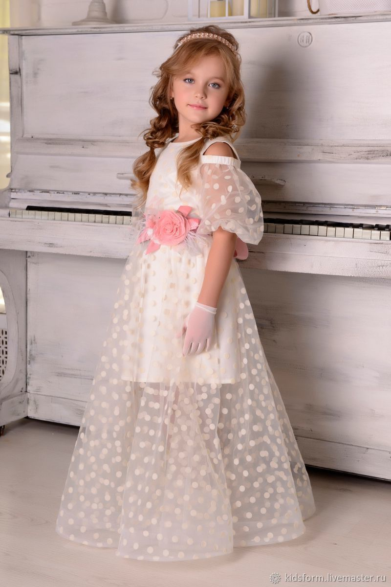 Нарядное бальное платье для девочки, Платья, Москва,  Фото №1