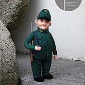 Куклы и игрушки ручной работы. Ярмарка Мастеров - ручная работа Солдат Швейк, войлочная кукла. Handmade.