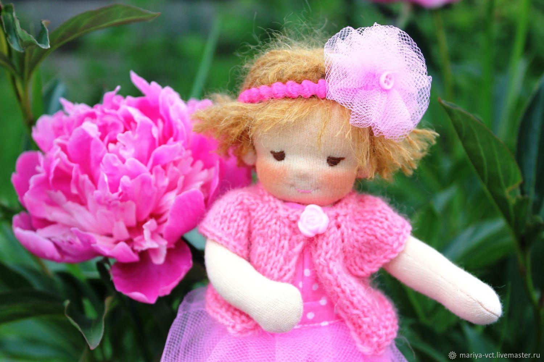 Вальдорфская кукла Пиона, 20см, Игрушки, Кострома, Фото №1