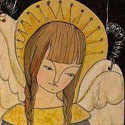 Для дома и интерьера ручной работы. Ярмарка Мастеров - ручная работа Подарочный Ангел на крестины.. Handmade.