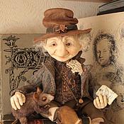 Куклы и игрушки ручной работы. Ярмарка Мастеров - ручная работа Добрый мистер Луридан ( книжный эльф ). Handmade.