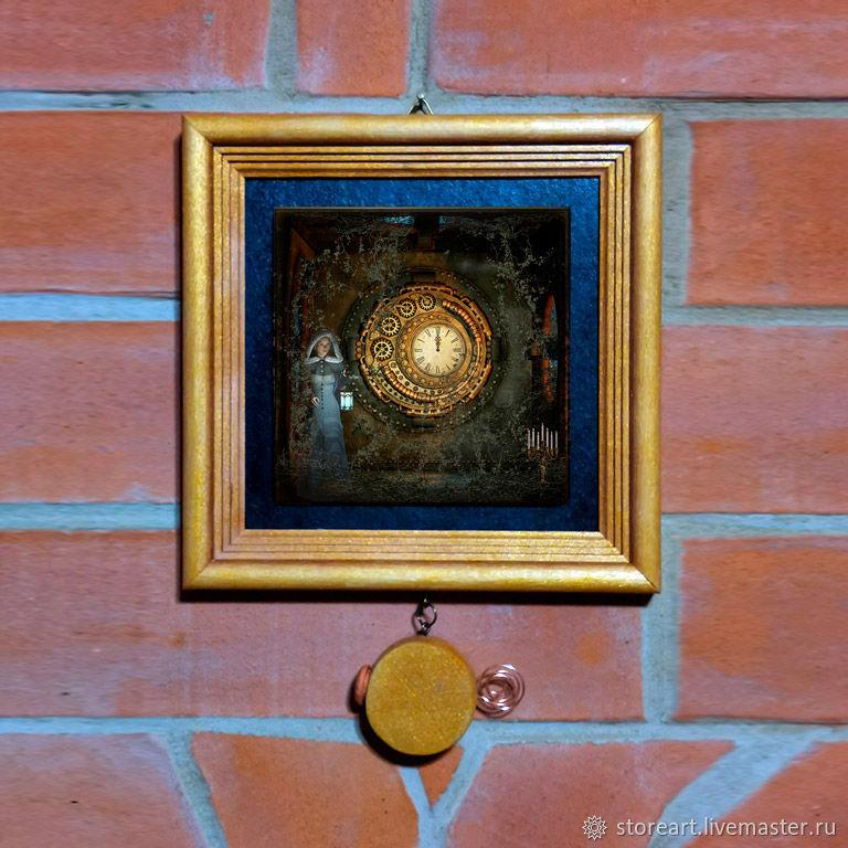 Символичный подарок. Ожидание чудес. Исполнитель желаний. Тайник, Панно, Москва,  Фото №1