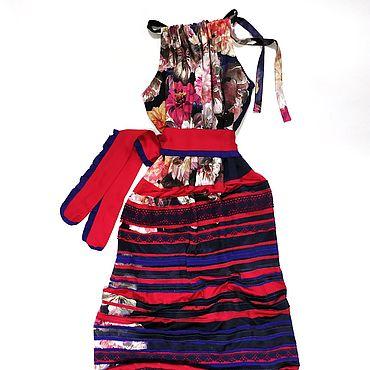 """Одежда ручной работы. Ярмарка Мастеров - ручная работа Платье в стиле бохо """"Дерзкий, бунтарный цветок"""". Handmade."""