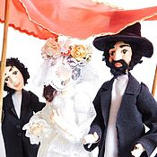 Dolls handmade. Livemaster - original item JEWISH WEDDING dolls. Handmade.