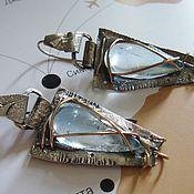 Earrings handmade. Livemaster - original item Earrings from silver 925 in the style of boho Egyptian. Handmade.