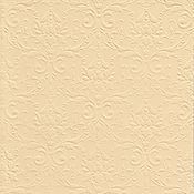 """Материалы для творчества ручной работы. Ярмарка Мастеров - ручная работа Бумага с тиснением """"Дамаск"""", цвет Кремовый, 3 листа, 20 Х 30 см. Handmade."""